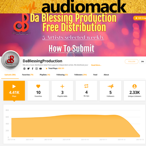 Audiomack Slider